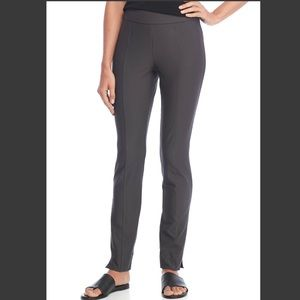 Eileen Fisher Washable Crepe Stretch Straight Pant